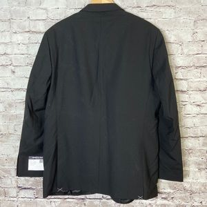 Kenneth Cole Suits & Blazers - Kenneth Cole Mens Suit Jacket Coat Black Wool